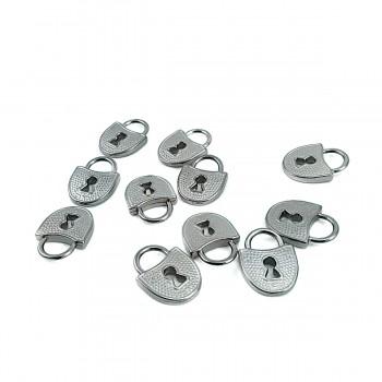 Lock Shaped Metal Handle 18 mm x 14 mm E 458