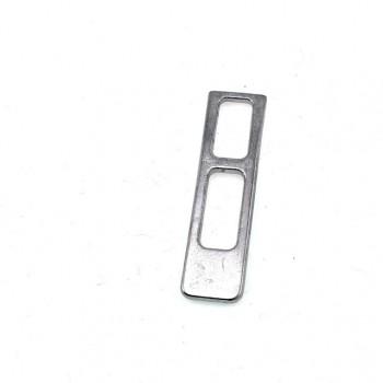 28 mm x 8 mm Plain Zipper Puller E 552