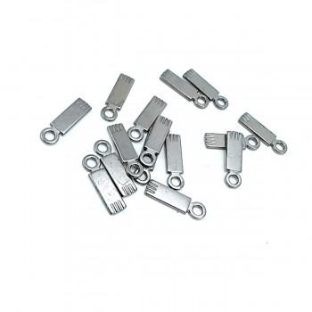 21 mm x 6 mm Plain Zipper Puller E 556