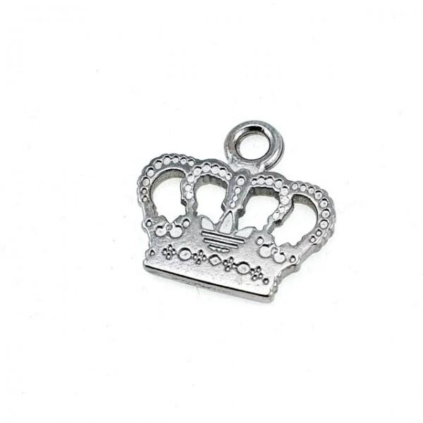 19 mm x 21 mm Crown Shape Zipper Puller E 625