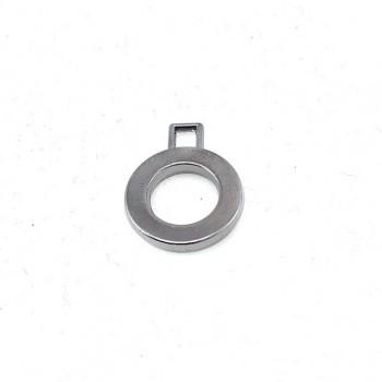 Zipper pullers round shape diameter 16 mm E 923