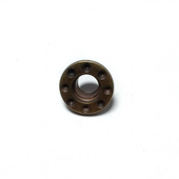 Zinc Alloy Eyelet Coats and Coats Lacing Hole Diameter 17 mm E 154