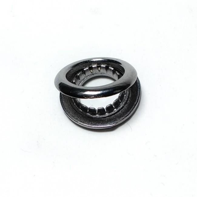 Oval Kuşgözü zamak metal üretim çap 15 mm E 1769