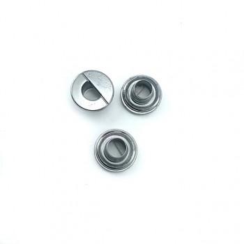 Round zamak eyelet diameter 14 mm E 2070