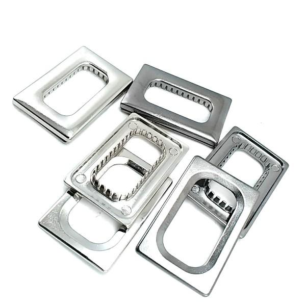 Metal eyelet - metal frame eyelet 28 x 14 mm E 2143