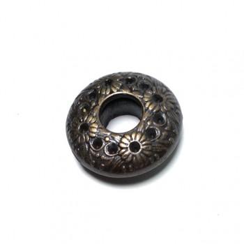 Oval eyelet zinc alloy metal production diameter 24 mm E399
