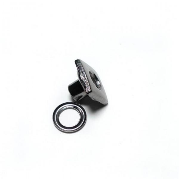 Eyelet - shoe lace hole 11 x 11 mm E 495