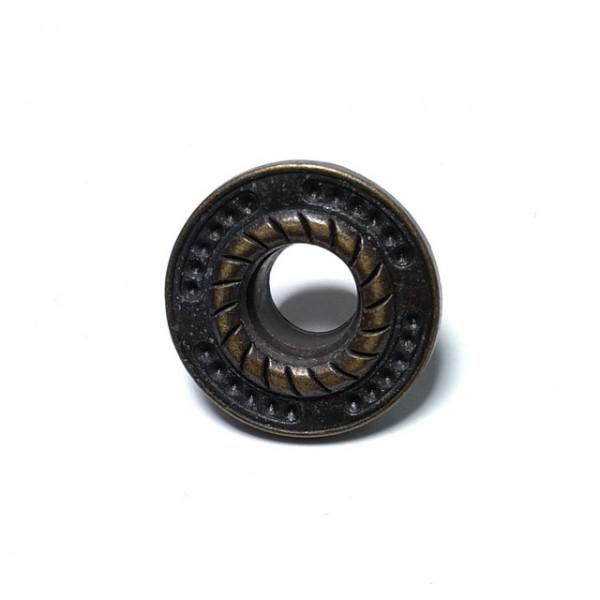 Oval Eyelet zinc alloy metal production diameter 25 mm E 528