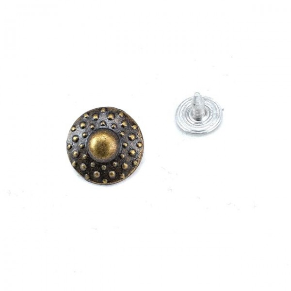 Zinc alloy with rivets - rivet 13 mm 20 length E 610