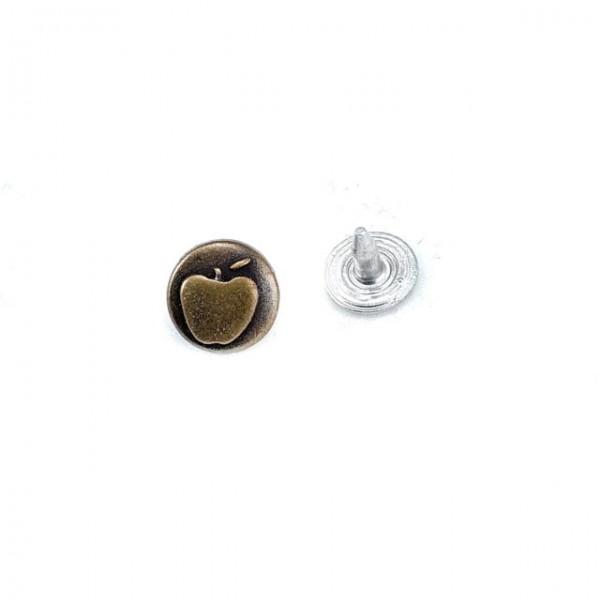 Rivet - rivet with apple logo 10 mm 16 length E 932