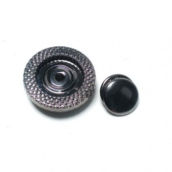 25 mm oval eyelet metal studs button B 100