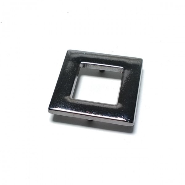 Eyelet double piece snap button 30 x 30 mm Е 1221
