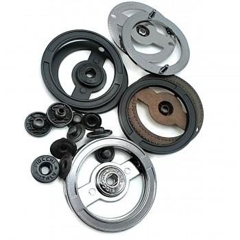 Circle  43 mm double snaps E 1311