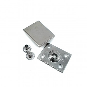 Double track snap button 32 x 25 mm E 1701
