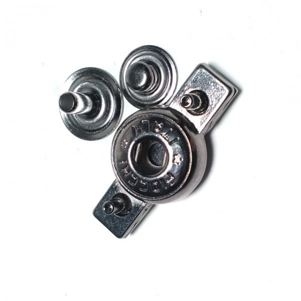 Rod shape double track snap button 30 x 7 mm Е 1733