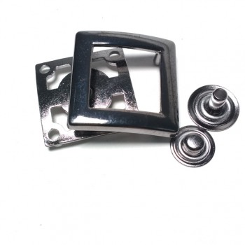 27 x 27 mm Snap button - clothing and bag snap button E 1777