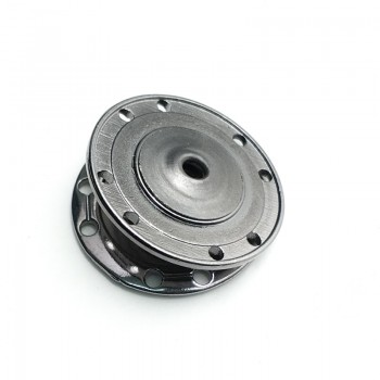Sewing zinc alloy studs button 22 mm E 1812