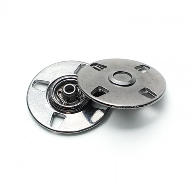 Strut snap button metal zamak 20 mm E 1813