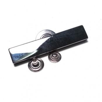 60 x 12 mm double piece snap button E 1873