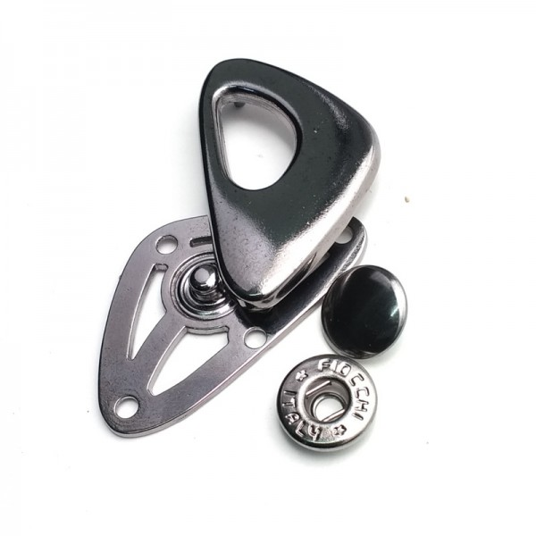 Outerwear zinc alloy snap button 28 mm E 1924