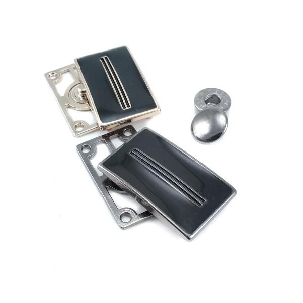 35 x 21 mm Enameled Stylish Snap Button E 2113