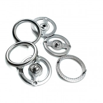 Ring Shape 27 mm Snap Button Е 2159