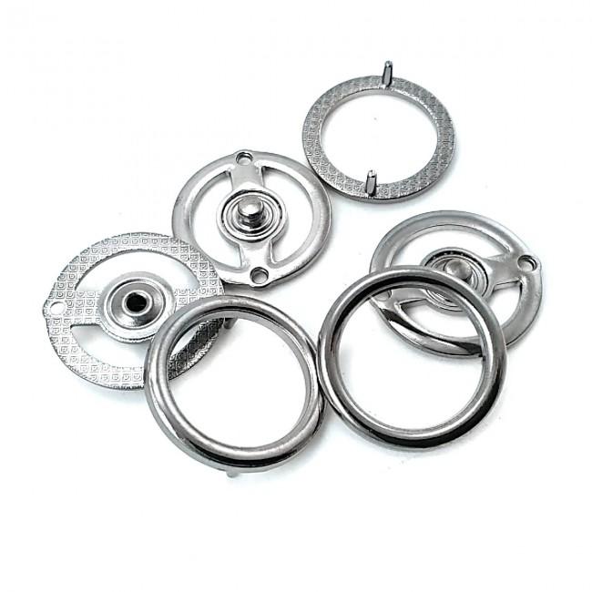 Halka Şekil 27 mm Çıtçıt Düğme Е 2159