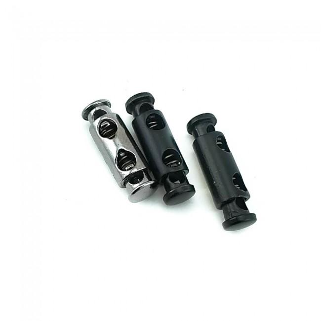 Metal kordon kilidi çift delikli 24 mm E 1365