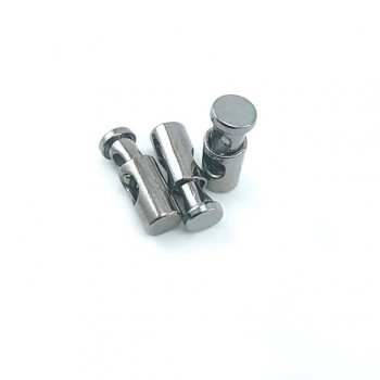 22 mm Metal single hole spring cord lock E 1848