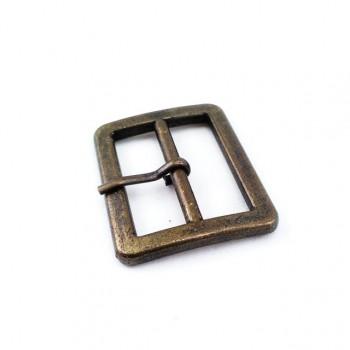 34 mm Metal buckle with rectangular belt buckle E 1625