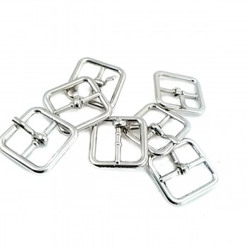 20 mm Square Tongue Metal Buckle E 2146