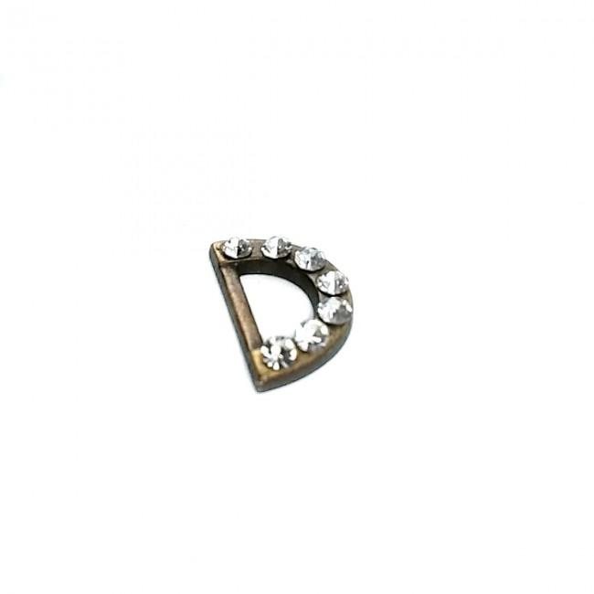 12 mm Taşlı Metal D Toka E 1166