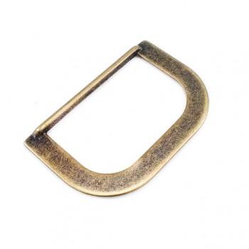 3.6 cm Metal D buckle E 2041