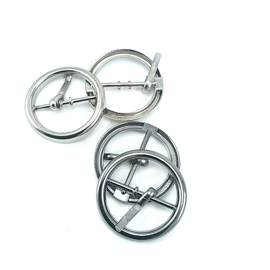 Round tongue ring buckle 31 mm E 2127