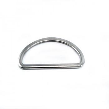 Metal D buckle 5 cm E 893