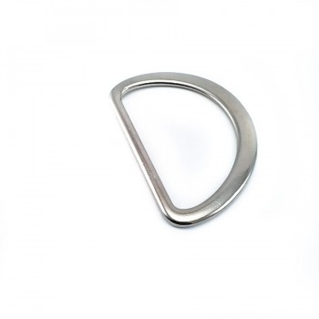Metal D buckle 4,5 cm E 894