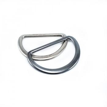 Metal D buckle 40 mm E 895