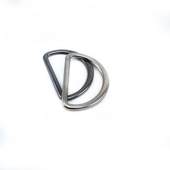 Metal D buckle 3,5 cm E 896