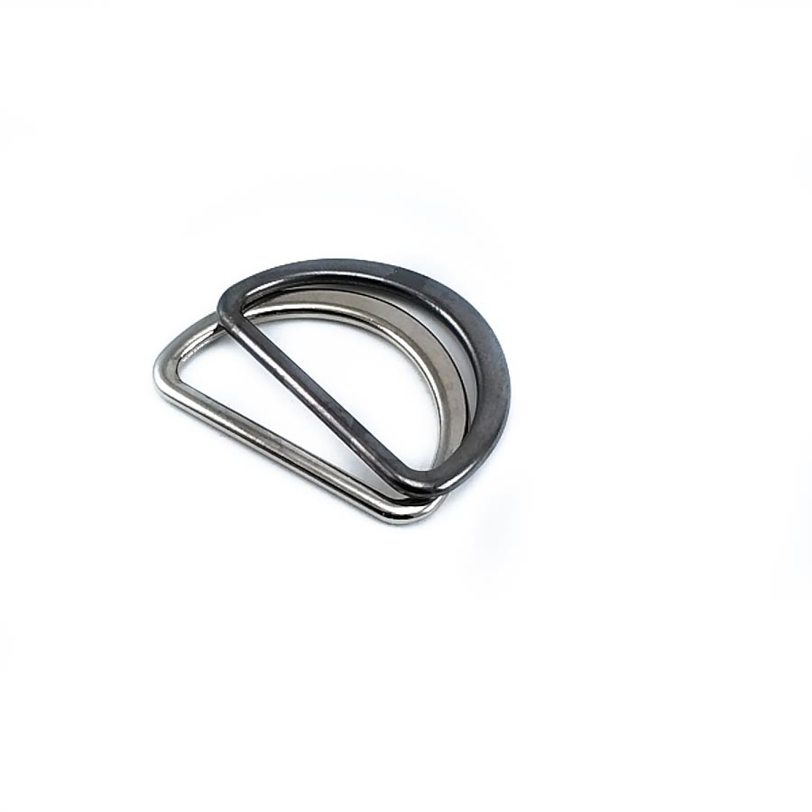 3.0 cm Metal D buckle E 897   Bag and Clothing Buckle