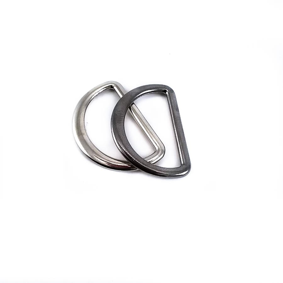 2,5 cm Metal D buckle E 898 | Bag and Clothing Buckle