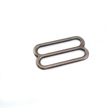 Metal adjusting buckle 24 mm E 1830