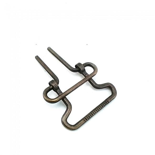 30 mm Hareketli Metal Ayar Tokası E 648