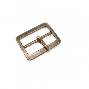 28 mm Rectangular Metal Buckle E 1013