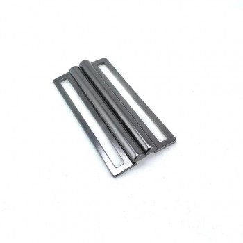 54 mm Sliding metal buckle 2 pcs - snap buckle E 1171