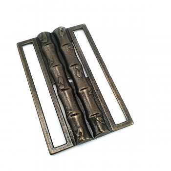 69 mm Bamboo Design Sliding Buckle E 1222
