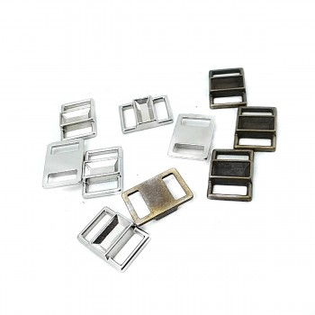 11 mm Metal Accessory Buckle E 1463
