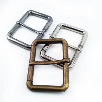 46 mm Clothing - Rectangular belt buckle - zamak metal E 1549