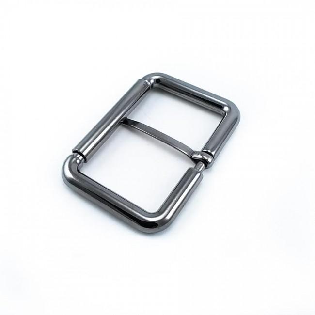 46 mm Giyim - Dikdörtgen kemer tokası -  zamak metal E 1549