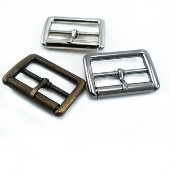 30 mm square belt buckle with roller E 1562