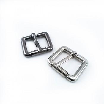 20 mm Roller dog collar metal buckle E 1591